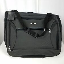 201ff41f77 Vintage Skyway Garment Bag Luggage Hanging Large Green 45