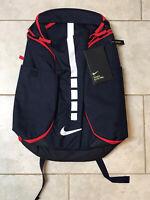 New Nike Hoops Elite Pro Blue Red Sports Backpack Size 38L BA5554-414
