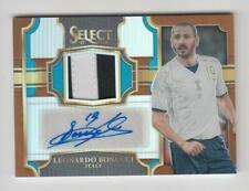 2017-18 Panini Select Soccer Jersey Auto card :Leonardo Bonucci #44/49
