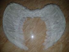 FEATHER ANGEL FOLDING WINGS HALLOWEEN CHRISTMAS HEN PARTY  FANCY DRESS