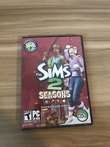 The Sims 2 Seasons Expansion Pack - PC - Two Disc 2007 With Manual Complete
