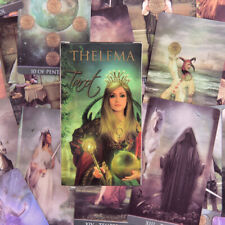 Thelema Tarot Cards Deck Tarot Card Board Game Fate Entertainment Party Playi PM