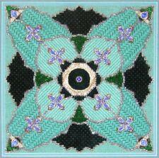 5x Needlepoint Pattern  Jewels/Garden/Hearts&Flowers/BlueIce/WovenRibbons-HX38