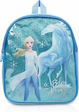 Disney Frozen 2 Backpack for Girls, School Bag Elsa Figure and Magic Water Horse