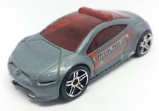 Hot Wheels Mitsubishi Eclipse Concept Car 2008 Pearl Grey 1:64 Official Pace Car