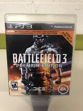 Battlefield 3 -- Premium Edition (Sony PlayStation 3, 2012) Complete PS3