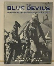 THE BLUE DEVILS US Navy & Marine Corps ACES in WWII -SIGNED BY 8 ACES