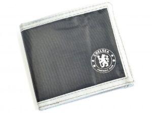 Chelsea FC Wallet Canvas Black Official Merchandise CFC Money Wallet