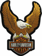 Harley Davidson Aufnäher/Patch Modell Upwing Eagle Braun #EMB328392