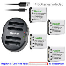 Kastar Battery Dual USB Charger for Kodak KLIC-7006 K7006 & Kodak Easyshare M552
