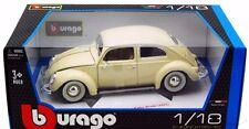 Volkswagen Kafer Beetle 1955 Bburago 1:18 Scale Toy Diecast Model Xmas Gift Him