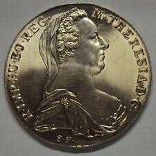 ERITREA VITTORIO EM. III RE DI ITALIA TALLERO DI CONVENZIONE 1780 VIENNA FDC