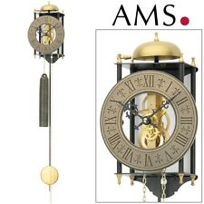 AMS Wall Clock 301 PENDULUM living room weight movement Home Watch