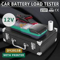 DY2015B 12V Automotive Battery Tester with Printer