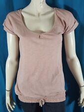 BONOBO BIO INSTINCT Taille XL - 42 haut top tee shirt manches courtes vieux rose