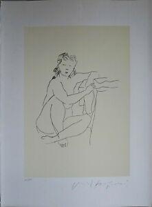 Pericle Fazzini litografia Figura Femminile 76x57 firmata numerata