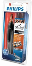 Philips Nt3160 Cordless Nose Ear Eyebrow Hair Trimmer Shaver Washable Portable