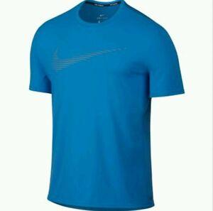Nike Dry Contour Short Sleeve Running Tshirt Top Size - XLarge