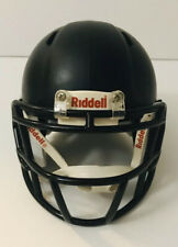 Riddel Speed Black Minifootball Helmet  Shell Only For Collections