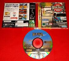 SEGA RALLY CHAMPIONSHIP Sega Saturn Versione Giapponese NTSC ○ USATO