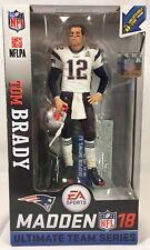 NEW Tom Brady Madden 18 NFL Ultimate Team Series Patriots Superbowl Li McFarlane