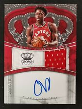 2017-18 Crown Royale OG Anunoby RC Rookie Jersey Auto RJA Autograph 019/199!!