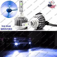 8000K Ice Blue HB3 9005 LED High Low Beam Headlight Conversion For Toyota Ford