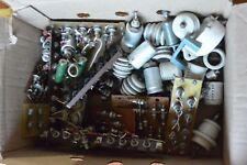 LOT 100 psc VINTAGE valve RADIO amplifier transistors components resistance, Ham