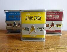 Star Trek The Original Series The Complete Series 3 Boxed Set DVDs Seasons 1-3