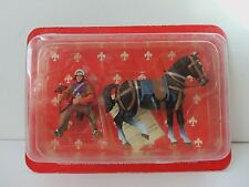 Deagostini Swiss Crossbow Knight Soldier With Horse Animal Toy Figure SMC004IT