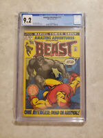 Amazing Adventures #12 CGC 9.2 Off White To White Pages! 2nd Hairy Beast KEY