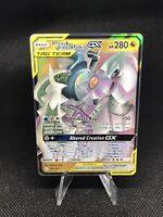 Pokemon Arceus & Dialga & Palkia GX 156/236 Holo Cosmic Eclipse Mint