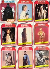 STAR WARS THE EMPIRE STRIKES BACK 1 1980 TOPPS COMPLETE BASE CARD SET OF 132