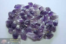 Amethyst Points 1/4 Lb Lots Natural Dark Purple Geode Crystals Uruguay