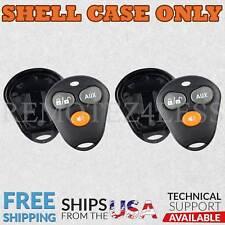 2 for Viper Orange Button Remote Shell Case Car Key Fob Cover 3b