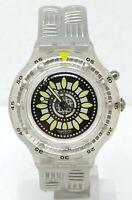 Orologio Swatch scuba walk on watch diver 200 m clock diving montre sub reloj