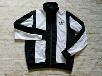 Men's Rare Retro Adidas 1969 Beckenbauer SST Tricot Full Zip Track Jacket L/XL