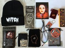 More details for oh my goth occult box witch items crystals pin vampire hat coffee jewellery etc