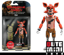 "FUNKO COLLECTIBLE FIVE NIGHTS AT FREDDY'S FOXY 5"" ACTION FIGURE 8848 IN STOCK"