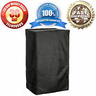 """Waterproof Electric Smoker Grill Cover - 25""""W x 17""""D x 39""""H - Black"""