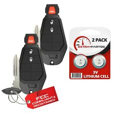 2 For 2009 2010 2011 2012 2013 Dodge Journey Keyless Entry Remote Car Key Fob