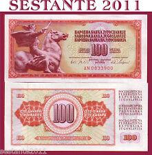 YUGOSLAVIA  100 DINARA 1965  P  80c,    FDS / UNC