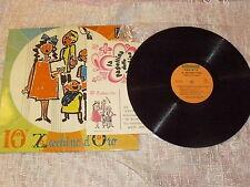 "VVAA ""10° ZECCHINO D'ORO"" LP ANTONIANO RIFI Ita 1968 CRISTINA D'AVENA"