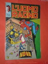 UOMO RAGNO spiderman -N° 242 -prima SERIE 1°- DEL 1979 -EDIZIONI CORNO- usato-a