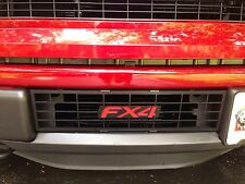"2009-2014 F-150 Removable Backing ""FX4"" Lettering Powder coated Bumper Grille"