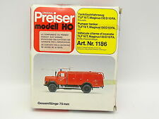 Preiser Kit da montare 1/87 HO - Magirus F150 D10 FA Vigili del fuoco Feuerwehr