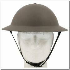 WW2 British Army Brodie Steel Helmet with Liner - Tommy WW2 Reproduction - New
