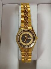 """VINTAGE LADIES JAPAN GOLD PLATED AUTOMATIC WATCH""""SEIKO"""" 5 -2906-0830"""