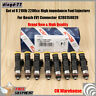 8x 2200cc High impedance Fuel Injectors For Bosch EV1 Connector 0280158829