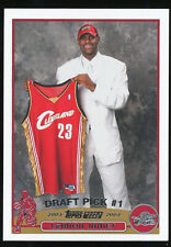 2003-04 LeBron James Topps Rookie RC *AUTHENTIC & MINT*